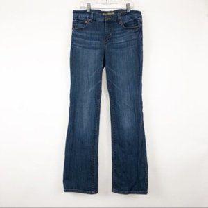 Seven7 (8) (29x31) Bootcut Dark Mid Rise Jeans